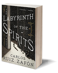 The Labyrinth of the Spirits: A Novel Cover