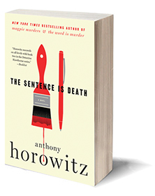 The Sentence Is Death: A Novel Cover