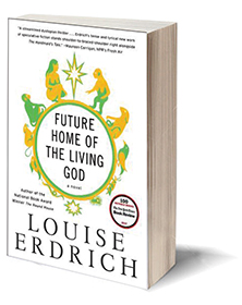 Future Home of the Living God: A Novel Cover