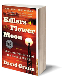 Killers of the Flower Moon: The Osage Murders and the Birth of the FBI Cover