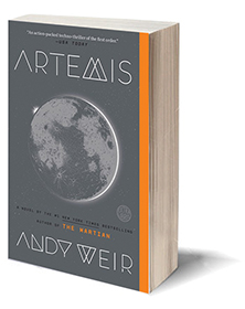 Artemis: A Novel Cover