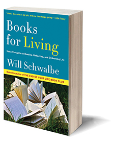 Books for Living: Some Thoughts on Reading, Reflecting, and Embracing Life Cover