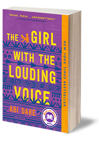The Girl with the Louding Voice: A Novel Cover