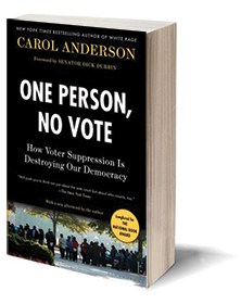 One Person, No Vote: How Voter Suppression Is Destroying Our Democracy Cover
