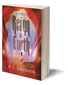 Reign the Earth (The Elementae) Cover