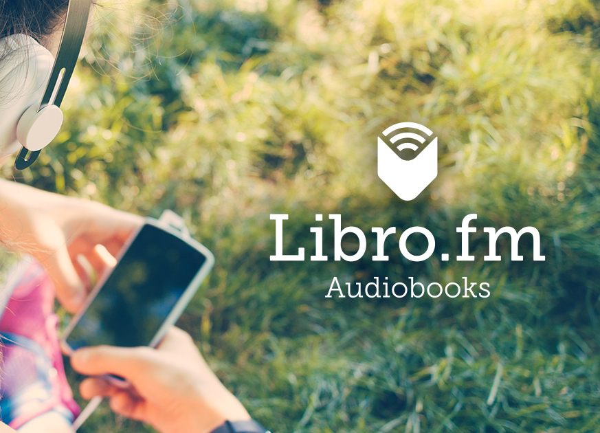 Person listening to audiobook