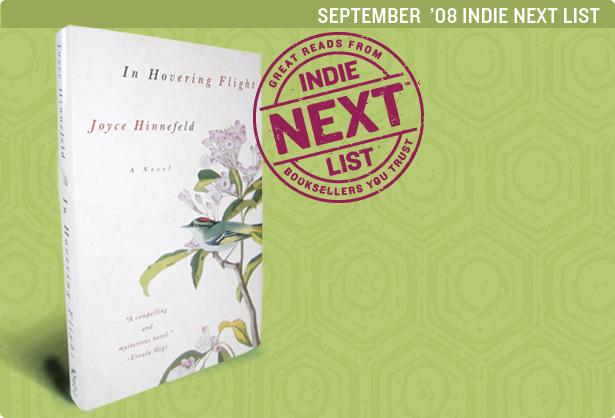 Sept. 2008 Indie Next List Header Image