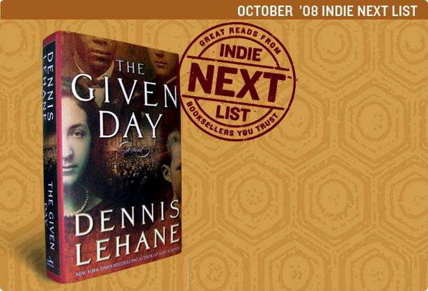 October 2008 Indie Next List Header Image