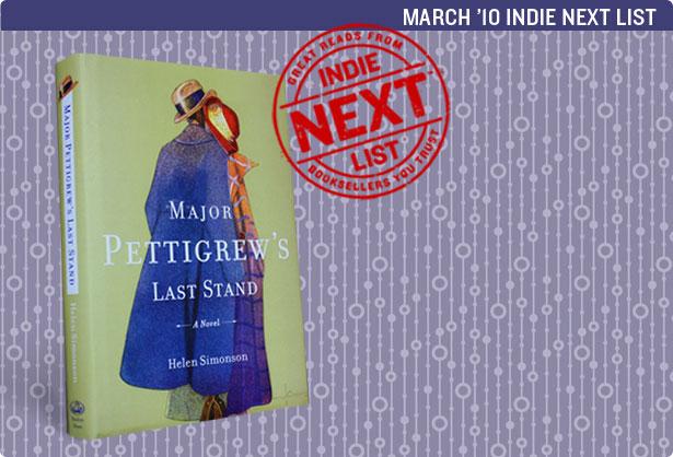 March 2010 Indie Next List Header Image