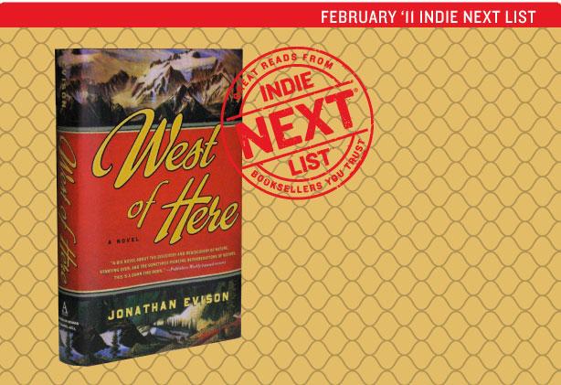 February 2011 Indie Next List Header Image