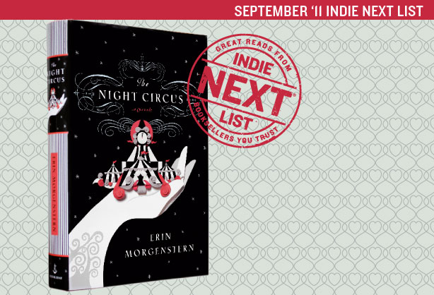 September 2011 Indie Next List Header Image