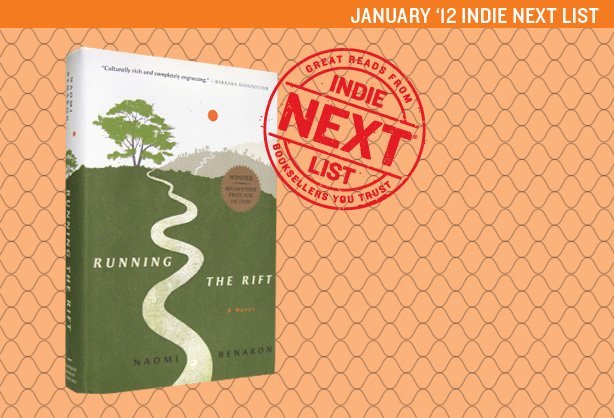 January 2012 Indie Next List Header Image