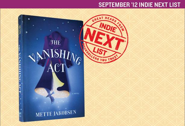 September 2012 Indie Next List Header Image