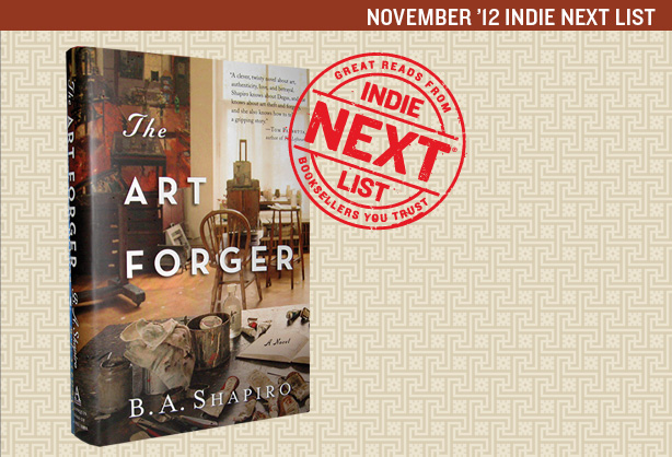November 2012 Indie Next List Header Image