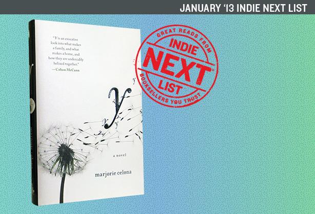 January 2013 Indie Next List Header Image