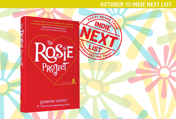 October 2013 Indie Next List Header Image
