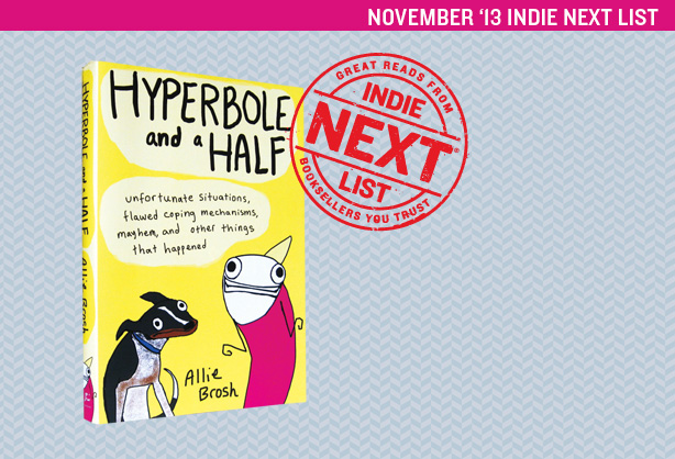 November 2013 Indie Next List Header Image