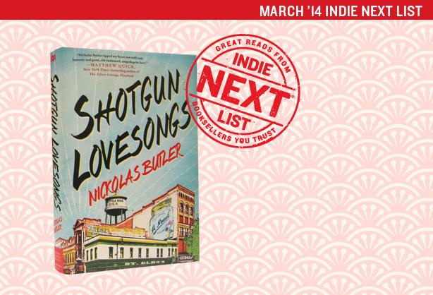 March 2014 Indie Next List Header Image