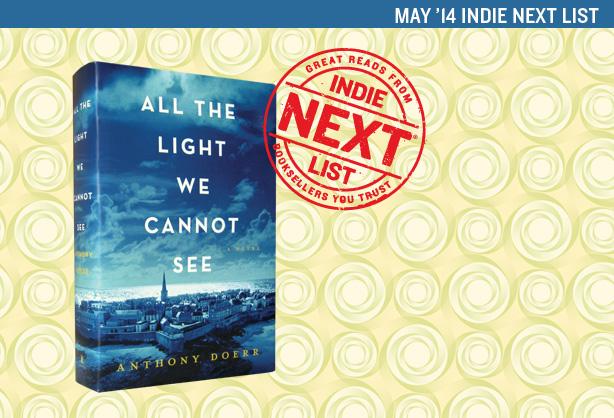 May 2014 Indie Next List Header Image