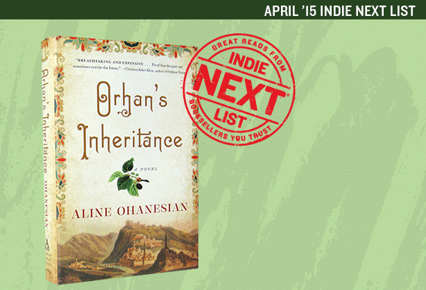 April 2015 Indie Next List Header Image