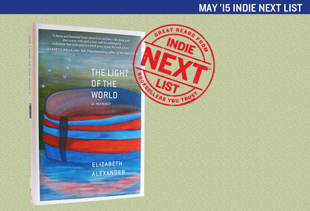 May 2015 Indie Next List Header Image