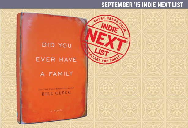 September 2015 Indie Next List Header Image