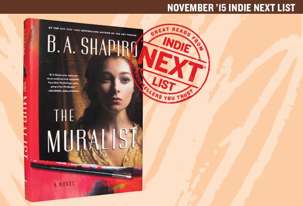 November 2015 Indie Next List Header Image