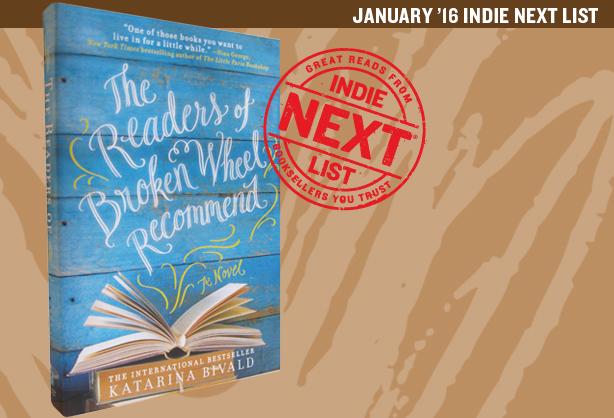 January 2016 Indie Next List Header Image