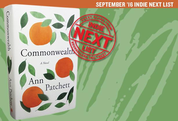 September 2016 Indie Next List Header Image