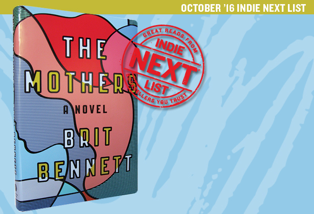 October 2016 Indie Next List Header Image