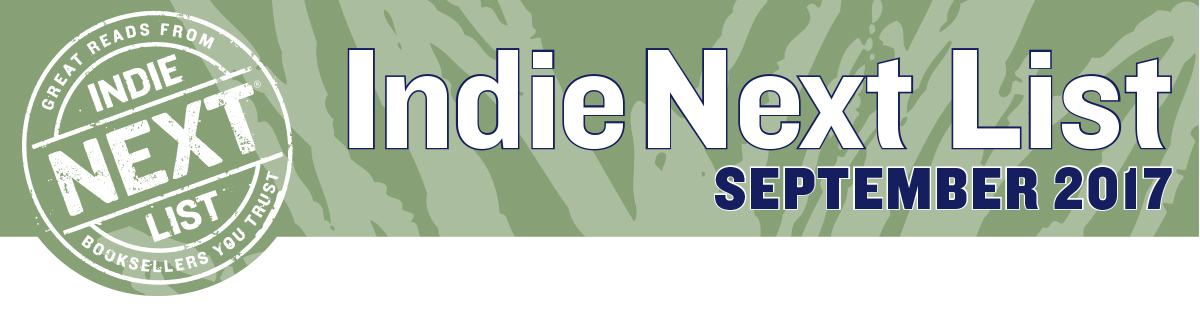 September 2017 Indie Next List Header Image
