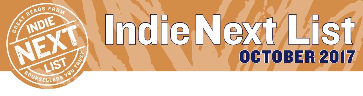 October 2017 Indie Next List Header Image