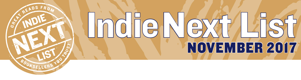 November 2017 Indie Next List Header Image