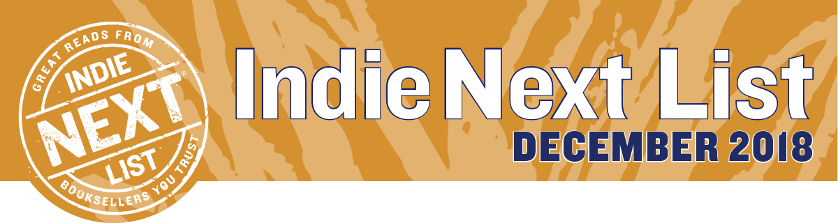 December 2018 Indie Next List Header Image