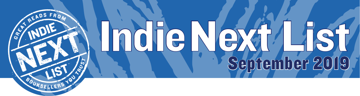 September 2019 Indie Next List Header Image